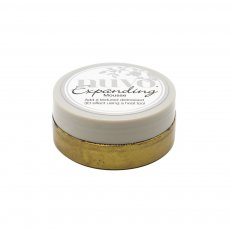 1701N Mus Nuvo Embellishment expanding Mousse- tuscan gold