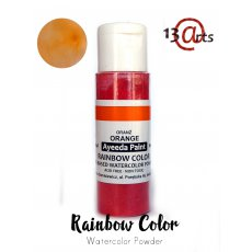 1776 Farba akwarelowa w proszku RAINBOW COLOR  Orange