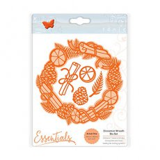 2166E Wykrojnik Cinnamon Wreath Die Set - Tonic Studios