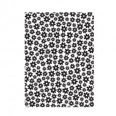30008381 Embossing Folder Darice -Small Daisy Background-małe kwiatki