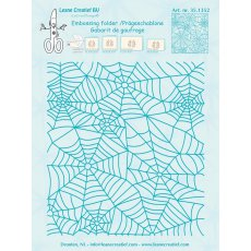 35.1352 Foldery do embossingu Leane Creatief Background Spiderweb