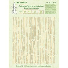 35.3769 Folder do embossingu Leane Creatief Background- wood