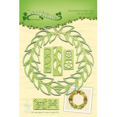 45.2267  Wykrojniki Leane Creatief - Wreath all seasons