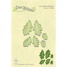 45.9883 Wykrojniki jesienne liście i żołędzie