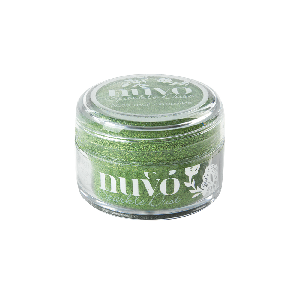 544N Nuvo Sparkle Dust -ultradelikatny brokat - Fresh Kiwi