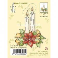 55.9814 Stempel silikonowy świąteczny stroik #1
