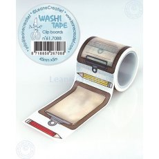 61.7088 Washi tape Clip boards 45mm x 5m - taśma tablice na notatki