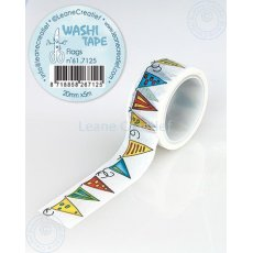 61.7125 Washi tape Flags 20mm x 5m - taśma flagi, baner