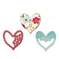 658916 Wykrojniki  Thinlits Die Set 3PK - Alluring Hearts