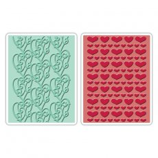 658925 Foldery do embossingu- Love Set #4