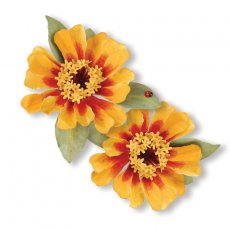 659265 Thinlits Die Set 7PK - Flower, Zinnia