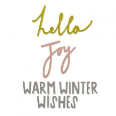 660882 Wykrojnik Sizzix Thinlits Die Set 3PK - Winter Wishes