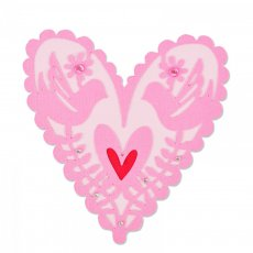 661164 Wykrojnik Sizzix Thinlits Die- From my Heart - serce
