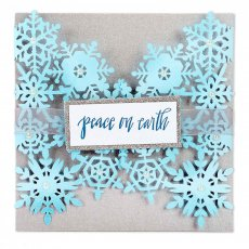 661547 Sizzix Thinlits Die - Snowflake Card