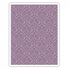 661592 Folder do wytłaczania Sizzix Texture Fades Embossing Folder -Damask