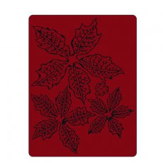 662198 Folder do embossingu Sizzix - Tattered Poinsettia-poinsencja