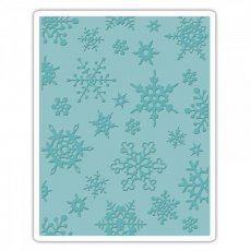 662432 Folder do wytłaczania Sizzix -Śnieżynki - Simple Snowflakes