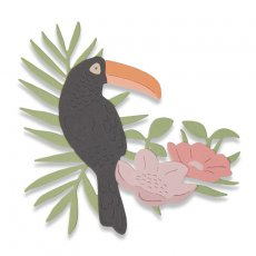 662544 Wykrojnik Thinlits  -  Tropical Bird