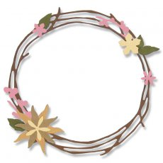 662575 Wykrojnik Thinlits - Pretty Wreath
