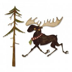 663103 Wykrojniki Thinlits - Merry Moose
