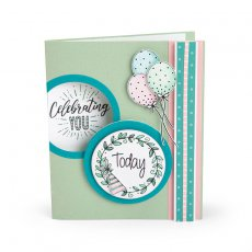 663632 Stemple - Sizzix Clear Stamps - Everyday Sentiments
