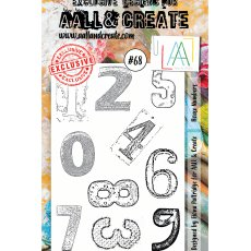 #68 AAll&Create - Stemple A6 - House Numbers