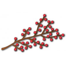 758 -Wykrojniki -  Berry Branch