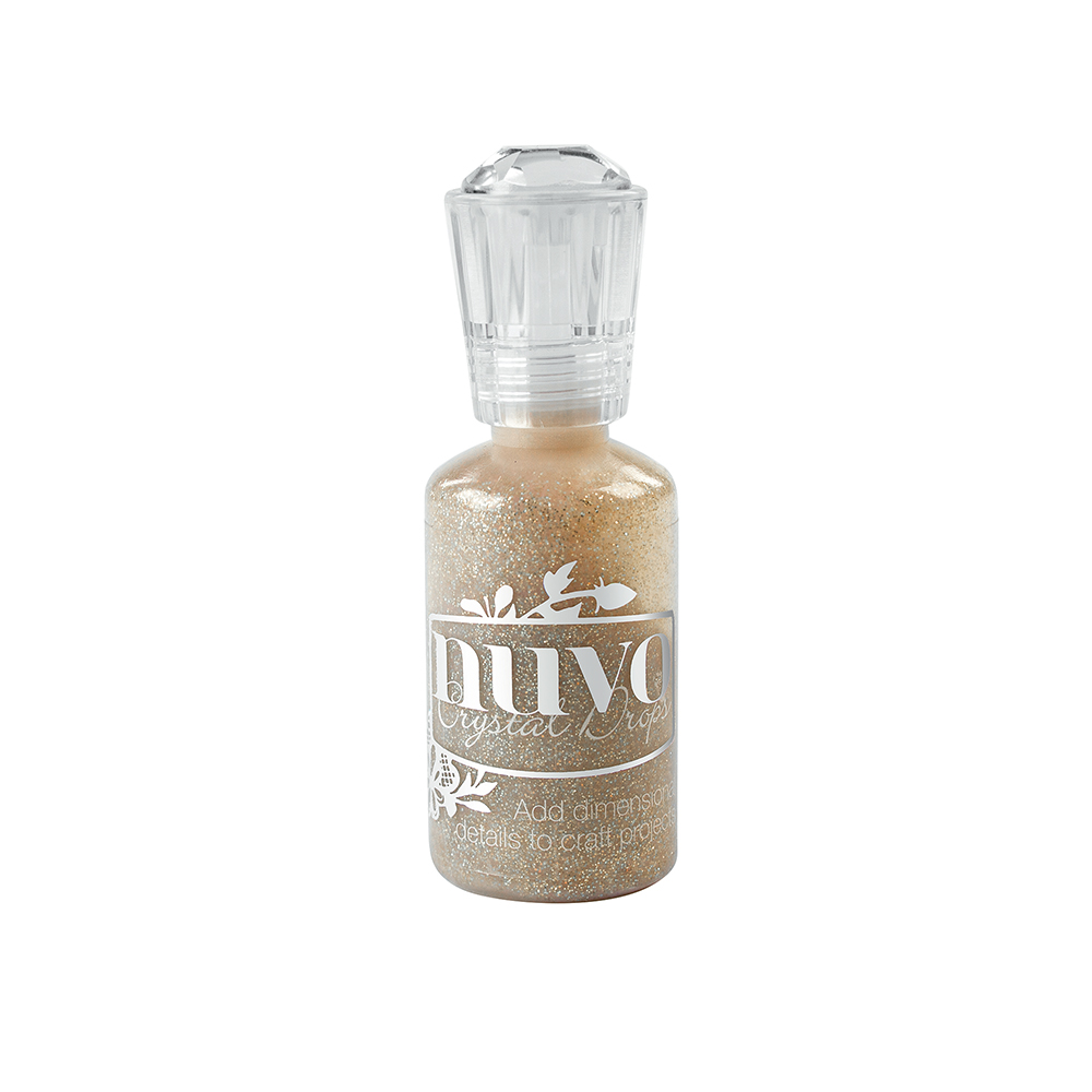 762N Tonic Nuvo Glitter Drops - Honey Gold