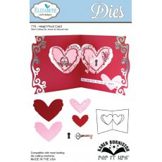 775 Wykrojniki Elizabeth Craft Designs - Heart Pivot Card