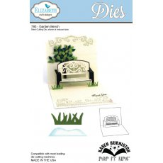 780 Elizabeth Craft Designs - Garden Bench Pop-Up