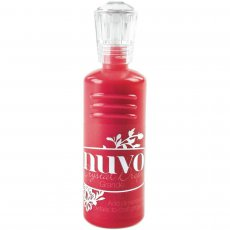 793N Perełki w płynie-Nuvo Grande Drops - 60ml -Gloss  Red Berry