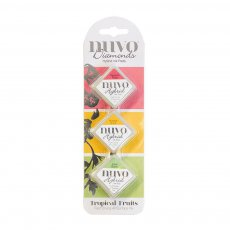 80N - Tusze Nuvo Diamond Hybrid -Tropical Fruits 3szt