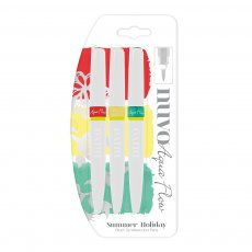 892N Tonic Nuvo Aqua Flow Pens - Summer Holiday -zestaw 3szt