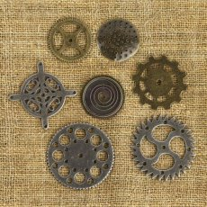 961053  Prima -Vintage Mechanicals - Gears