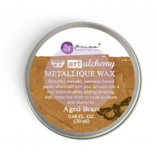 963965 Wosk metaliczny Art Alchemy- Metalique Wax - Finnbair -Aged Brass