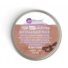 963972 Wosk metaliczny Art Alchemy- Metalique Wax - Finnbair -Rose Gold