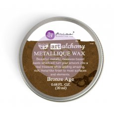 964023 Wosk metaliczny Art Alchemy- Metalique Wax - Finnbair -Bronze Age