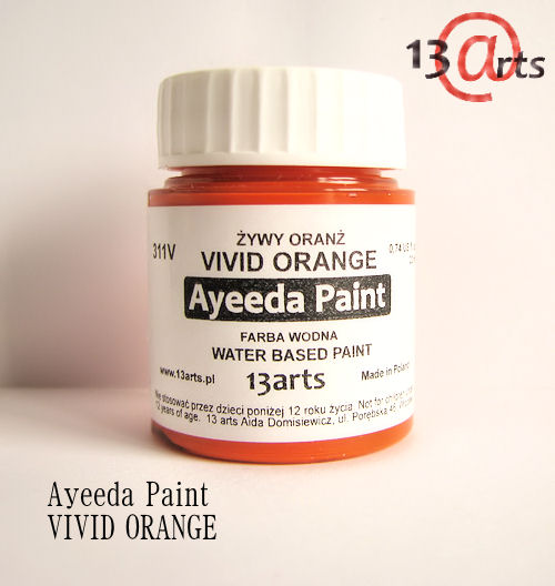 VP-2 Ayeeda Paint - VIVID Orange - żywy oranż