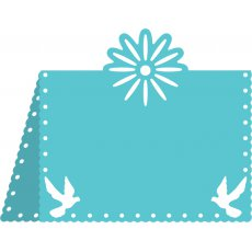 B299 Wykrojnik Flower And Dove Placecard #1
