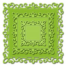 CAFR23 Wykrojnik- Square Frames (Set of 3)