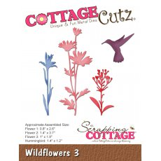 CC-247 Wykrojnik CottageCutz Wildflowers 3