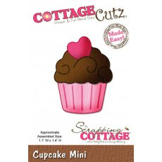 CC-MINI-098 CottageCutz Cupcake (Mini)
