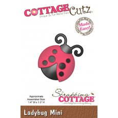 CC-MINI-120 Wykrojnik biedronka mini- CottageCutz Ladybug Mini