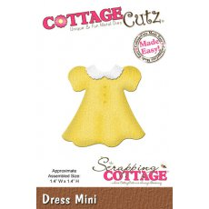 CC-MINI-158 Wykrojniki mini sukienka-CottageCutz Dress Mini
