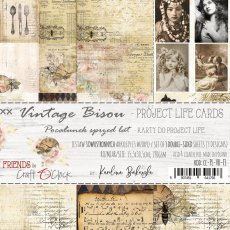 CC-PL-VB-F3 VINTAGE BISOU - ZESTAW KART DO PROJECT LIFE