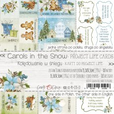 CC-PLCTS-27 CAROLS IN THE SNOW - ZESTAW KART DO PROJECT LIFE
