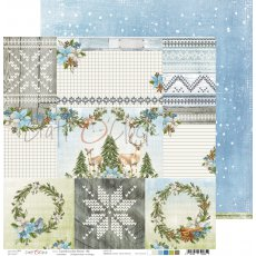 CC-ZPD-27-06 CAROLS IN THE SNOW - 06 - DWUSTRONNY PAPIER 30,5X30,5CM