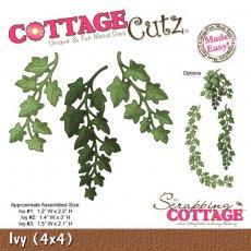 CC4x4-506 Wykrojnik bluszcze- CottageCutz Ivy (4x4)