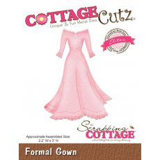 CCE-127 Wykrojnik suknia - CottageCutz Formal Gown (Elites)