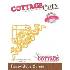 CCE-144 Wykrojnik CottageCutz Fancy Baby Corner (Elites)